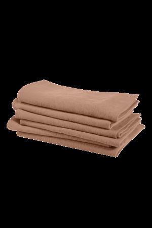 Linge Particulier Napkin linen - moka