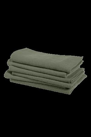 Linge Particulier Napkin linen - jade