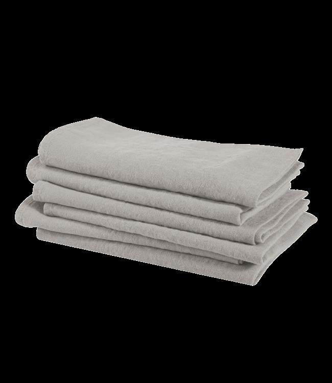 Napkin linen - cloud grey
