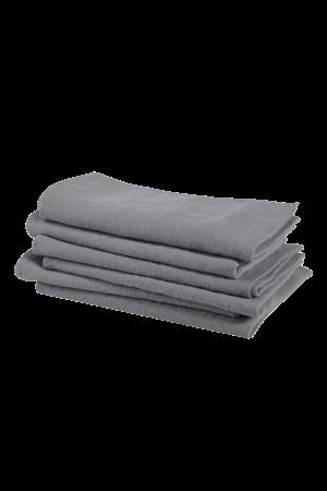 Linge Particulier Servet linnen - blue grey