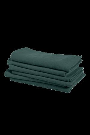 Linge Particulier Servet linnen - vintage green