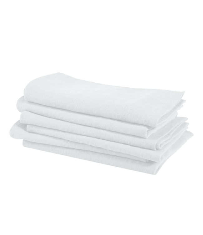 Linge Particulier Napkin linen - optic white