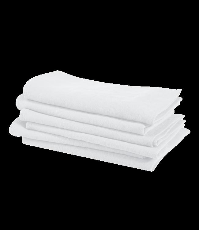 Linge Particulier Servet linnen - optic white