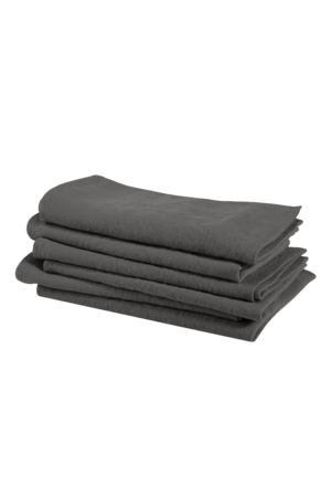 Linge Particulier Servet linnen - real grey