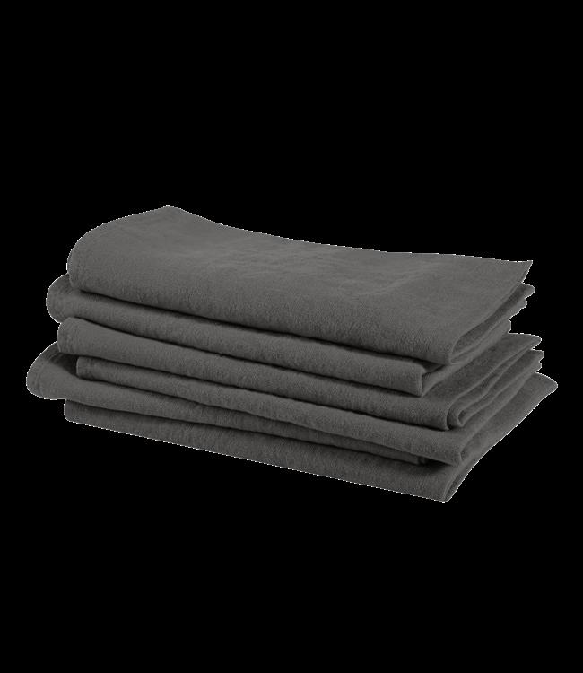 Linge Particulier Napkin linen - real grey