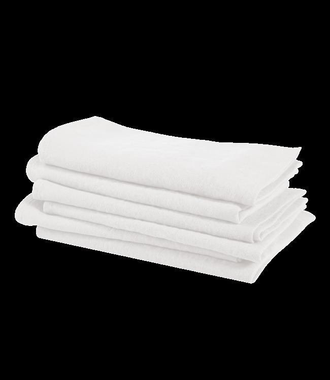 Linge Particulier Servet linnen - off white