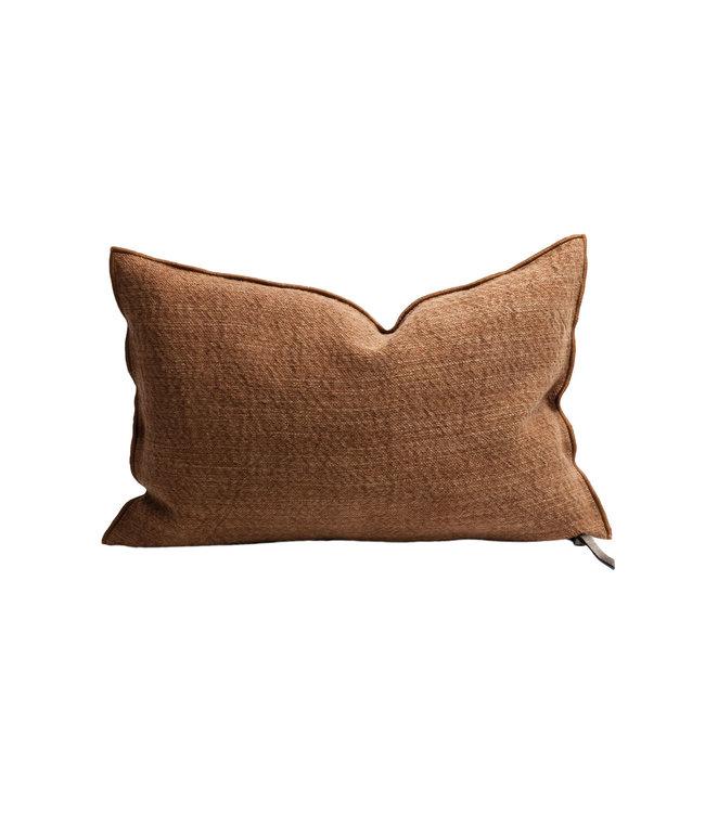 Maison de Vacances Cushion vice versa, canvas nomade - terracotta