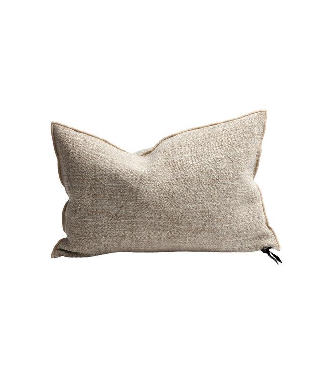 Cushion vice versa, toile nomade - naturel