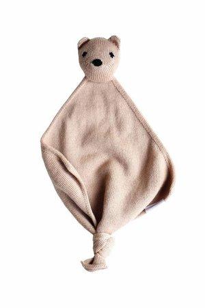 Hvid Teddy Tokki - blush