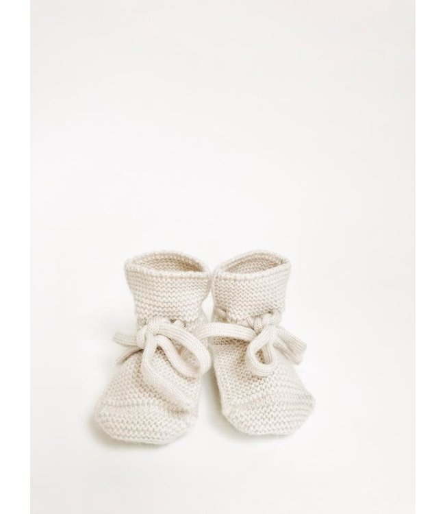 Hvid Booties - off white
