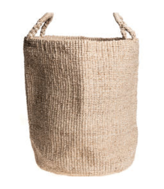 Seafarer laundry basket - natural