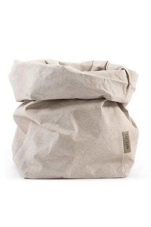 Uashmama Uashmama paperbag - cachemire