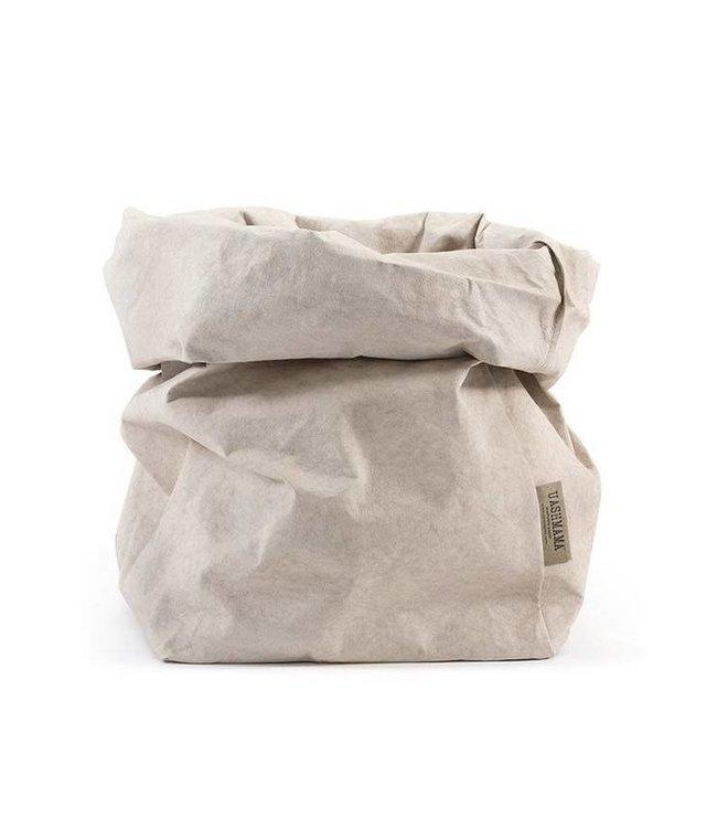 Uashmama paperbag - cachemire