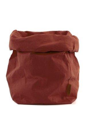 Uashmama Uashmama paperbag - cognac