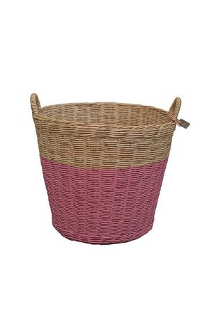 Numero 74 Rattan basket - baobab rose