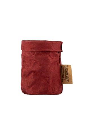 Uashmama Uashmama paperbag - bordeaux