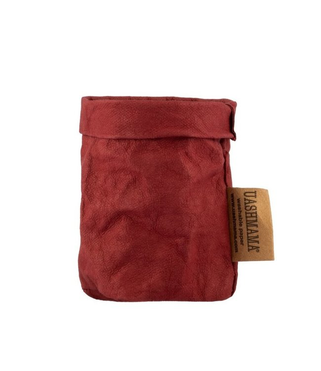 Uashmama paperbag - bordeaux