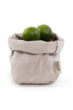 Uashmama Uashmama paperbag - grey