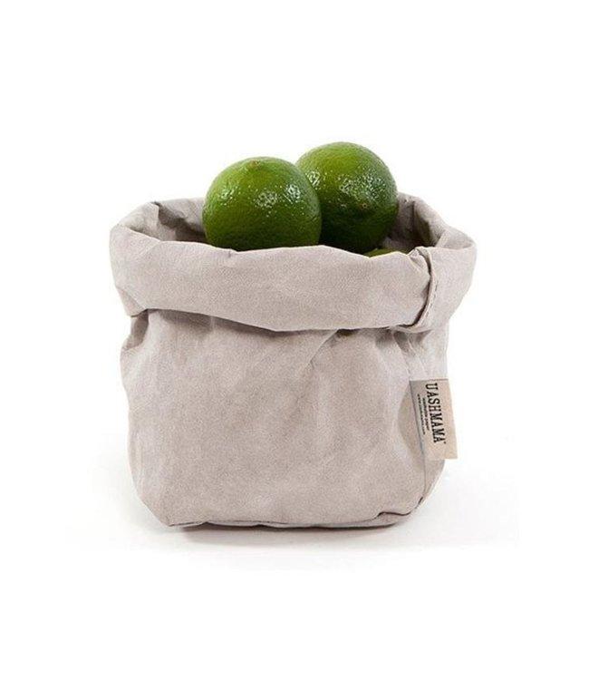 Uashmama paperbag - grey