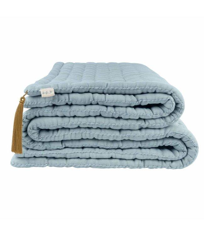 Tatami quilt - sweet blue