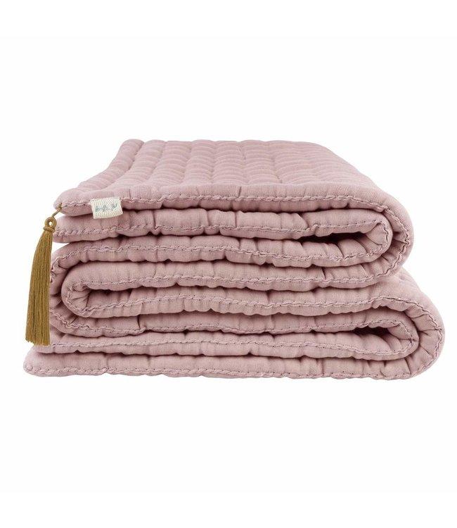 Tatami deken - dusty pink