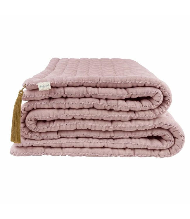Tatami quilt - dusty pink