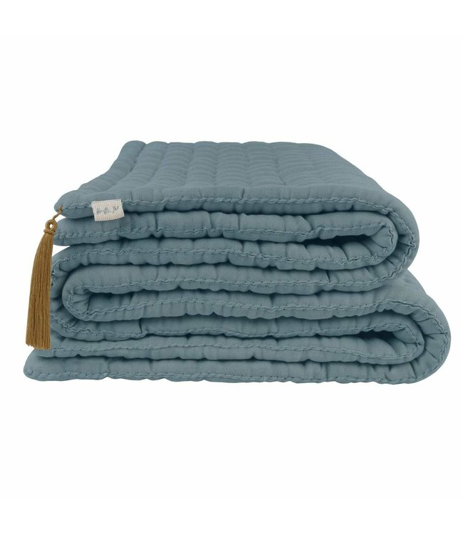 Tatami quilt - ice blue