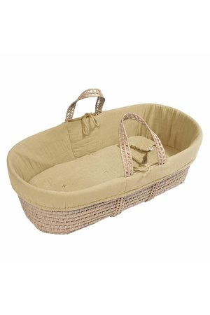 Numero 74 Bed linen for moses basket - yellow mellow