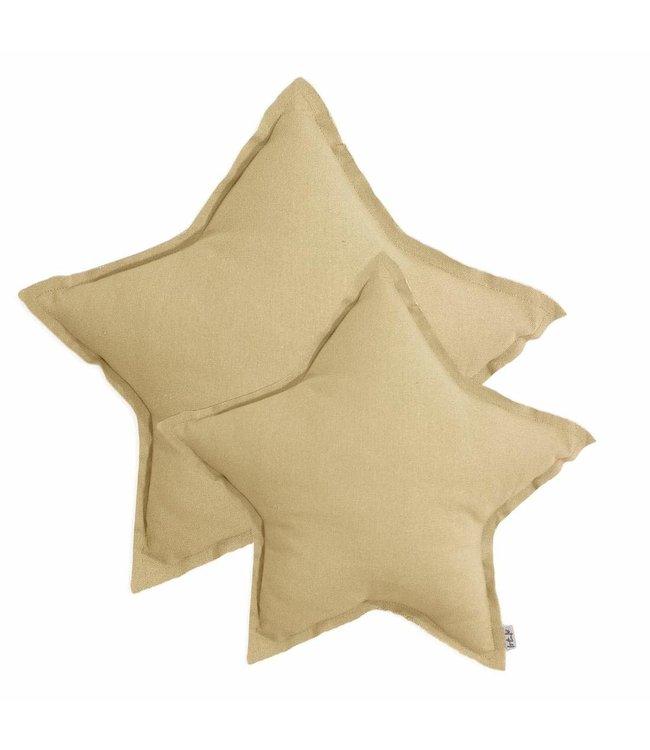 Numero 74 Star cushion - mellow yellow