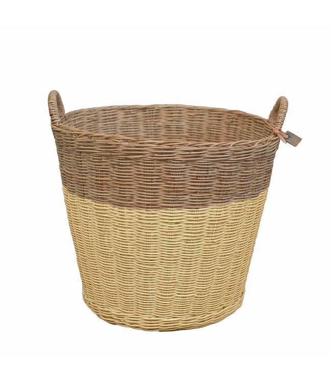 Numero 74 Rattan basket - mellow yellow