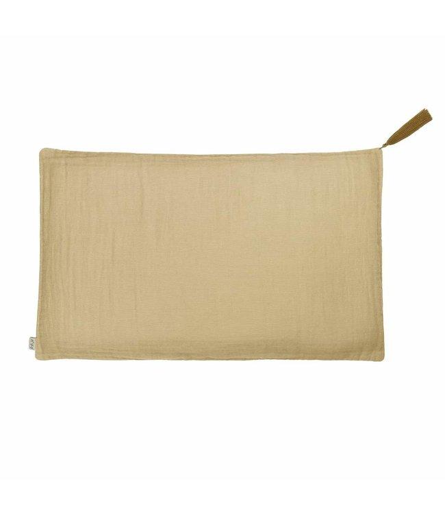 Numero 74 Pillow case - mellow yellow