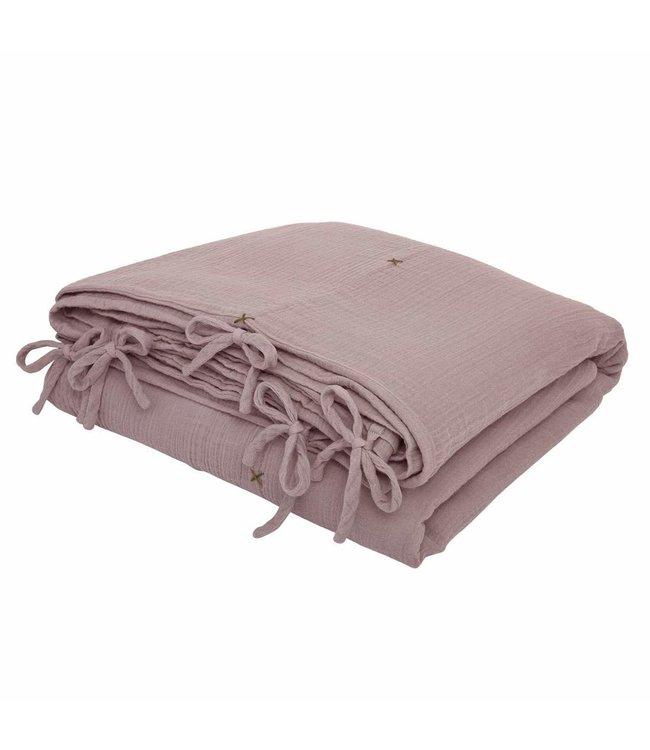 Dekbedovertrek - dusty pink