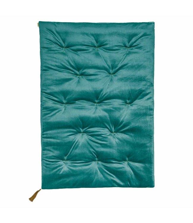 Numero 74 Speelmatras - velvet teal blue