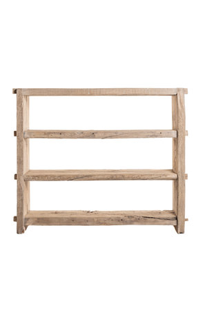 Wide rack, weathered elm