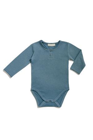 Phil & Phae Body lange mouwen - balsam blue