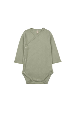 Organic Zoo Wrapover body - sage