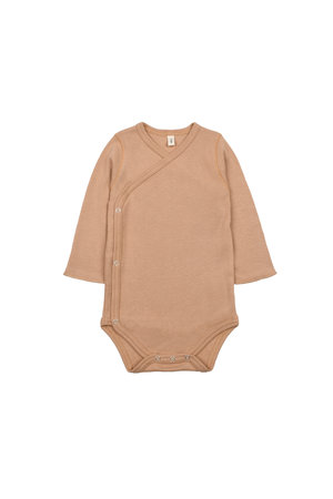 Organic Zoo Wrapover body - caramel