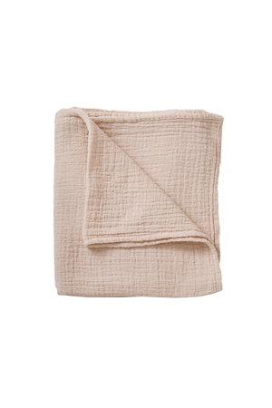 garbo&friends Eggshell muslin swaddle blanket
