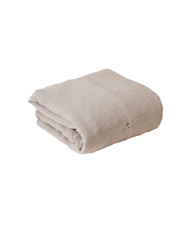 garbo&friends Thyme gewatteerde muslin quilt