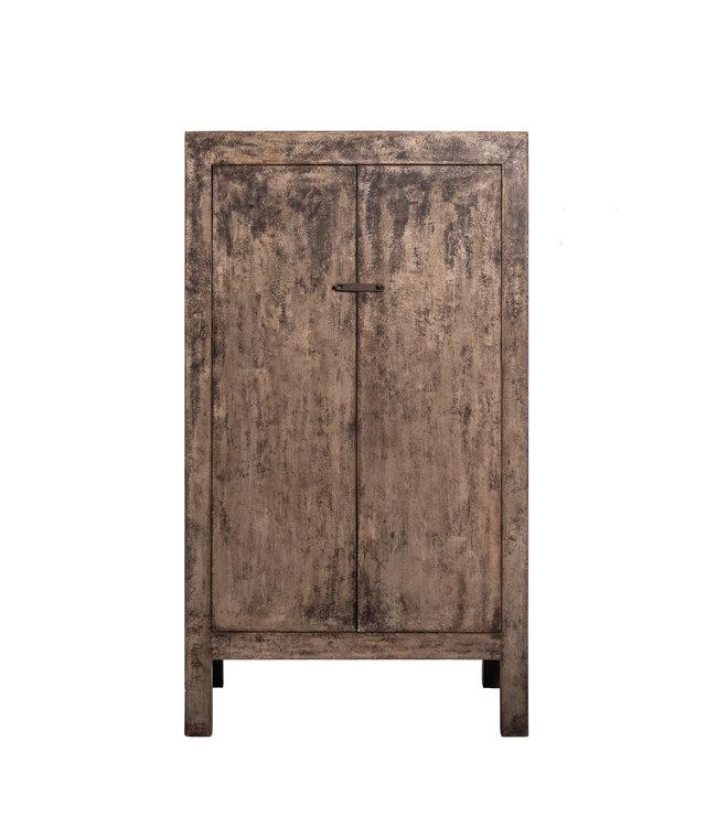 Two-door cupboard elm wood