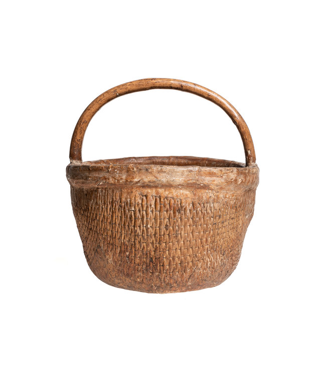 Old Chinese farmer basket #1