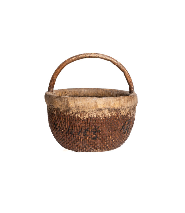 Old Chinese farmer basket #4