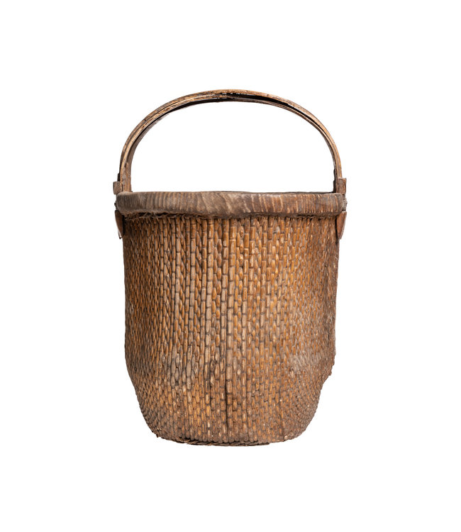 Old Chinese farmer basket #3