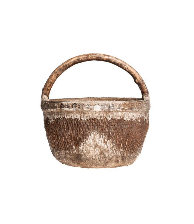 Old Chinese farmer basket #5