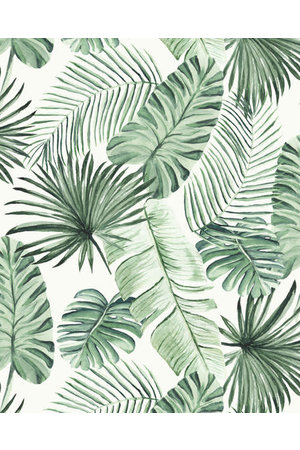 Leaves wallpaper roll