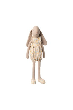 Maileg Bunny size 3, flower suit - off white