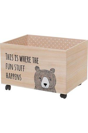 Bloomingville Mini Storage box with wheels L