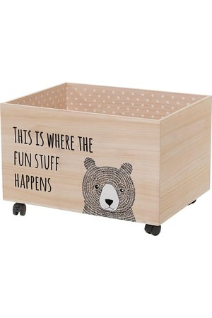 Bloomingville Storage box with wheels L