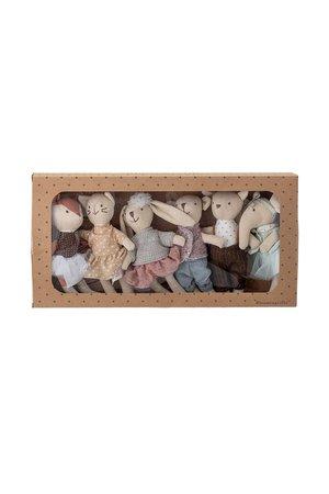 Bloomingville Mini Soft toys, set of 6