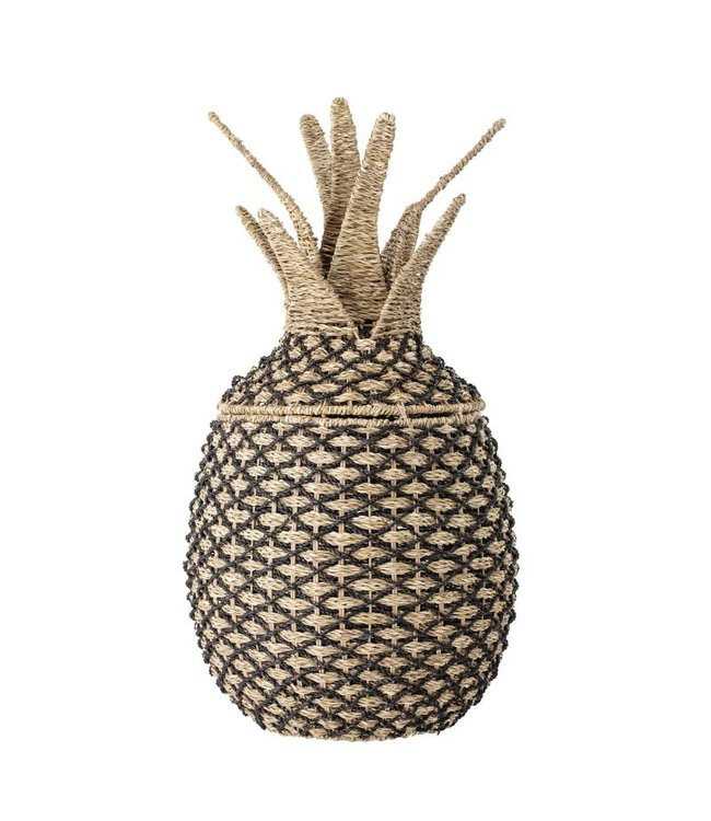 Pineapple basket with lid